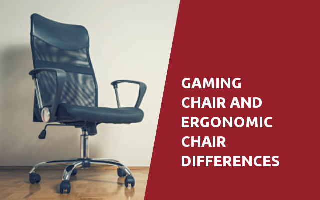 gaming chair and ergonomic chair differences