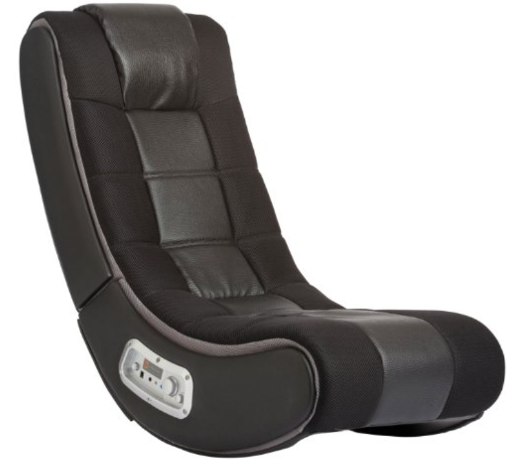 X Rocker V Rocker SE Black Foam Floor Video Gaming Chair for Adult, Teen, and Kid Gamers